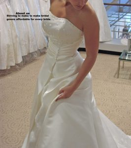 hiring wedding gowns