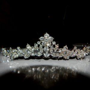 Rhinestone pageant tiara