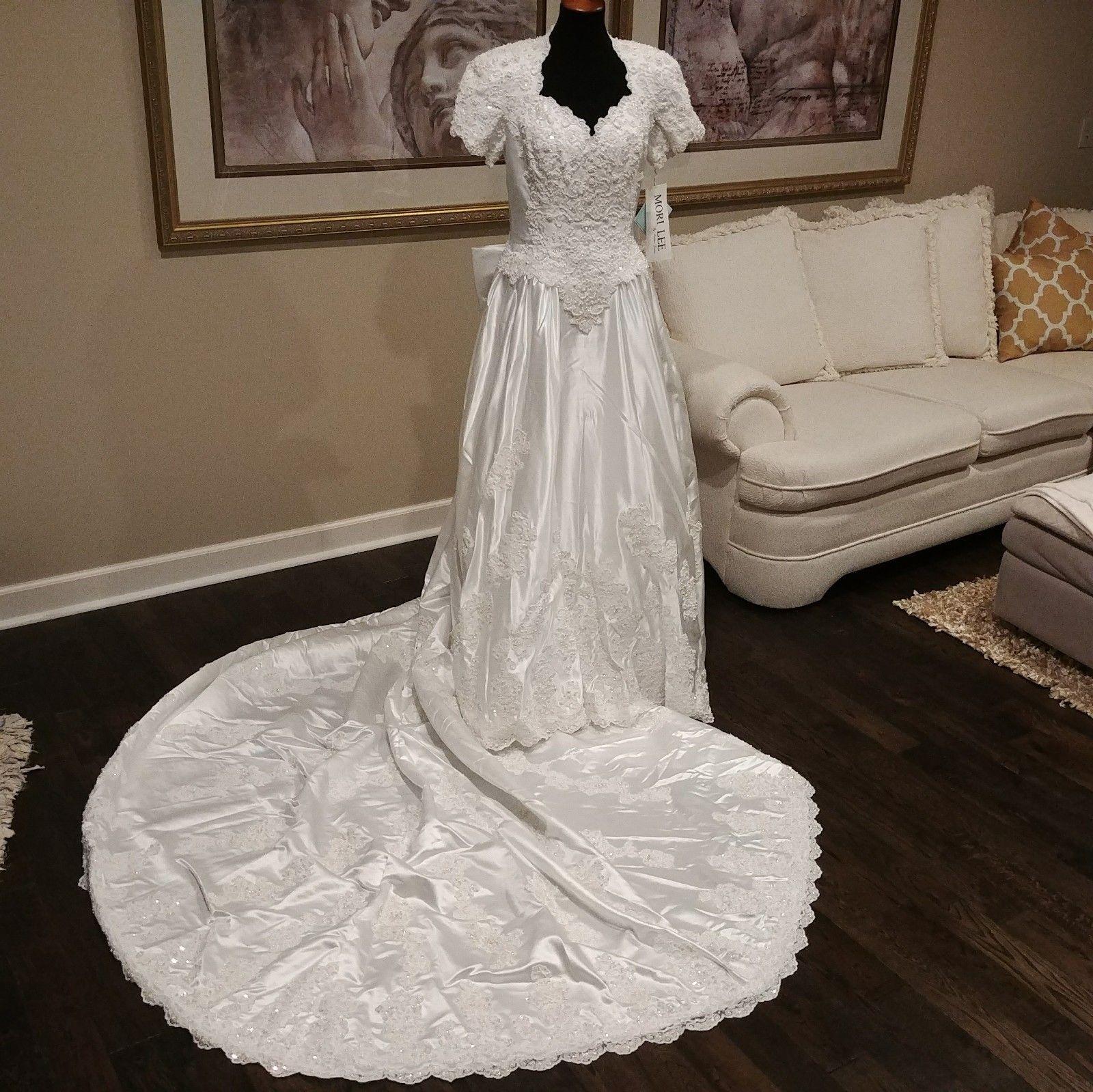 Retro Wedding Dresses.Mori Lee Vintage Wedding Gown