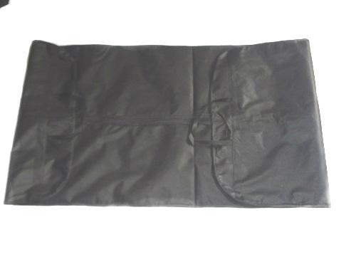 Wedding garment bag inside view
