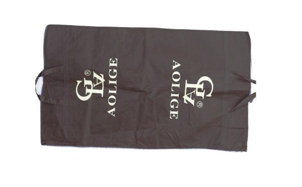 chocolate garment bag