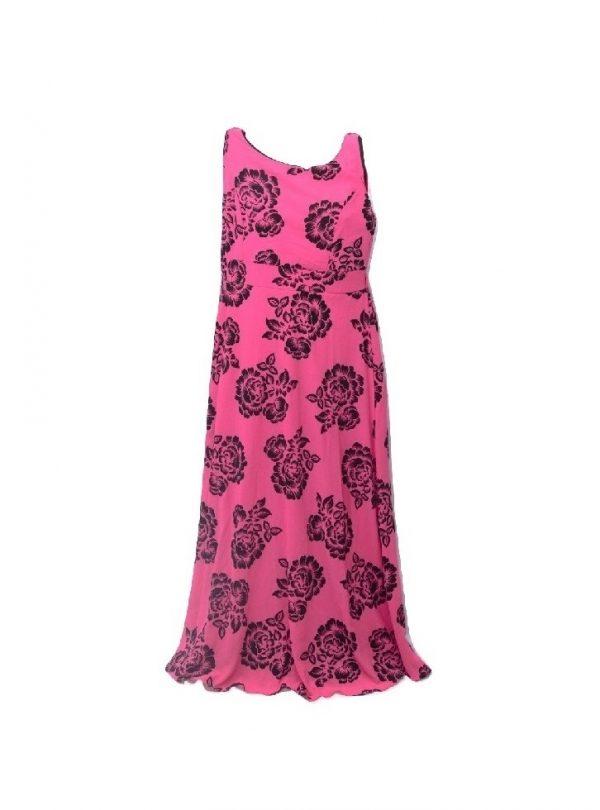 flower print maxi dress