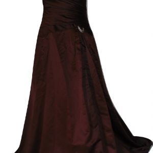 Sarah Danielle Chocolate Evening Dress
