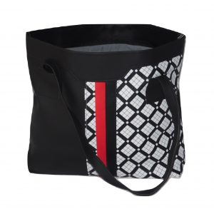 Tribal print tote handbag