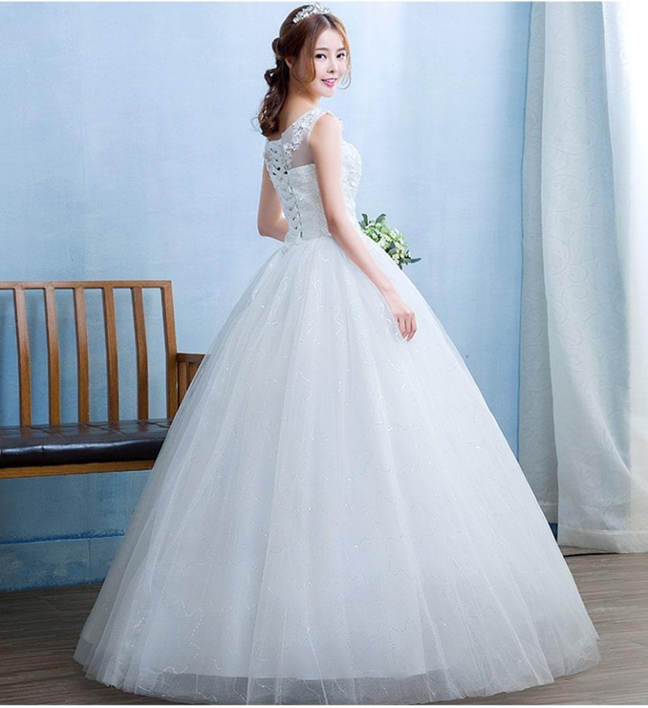 Off The Shoulder Organza Wedding Dress In Kenya For Sale