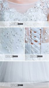 off the shoulder organza wedding dress description