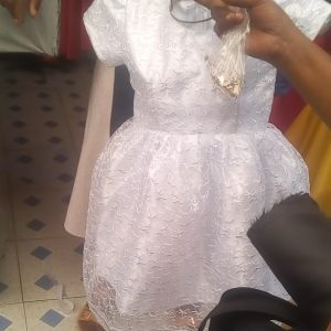 Customized flower girl dress