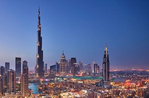 burj khalifa honeymoon