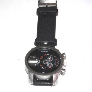 Black Vandross men's watch