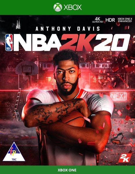 NBA 2K20 XboX One game