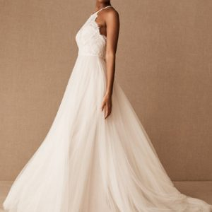 Custom Ivory Wedding Dress