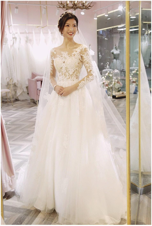 Long Sleeve Wedding Dress In Kenya For