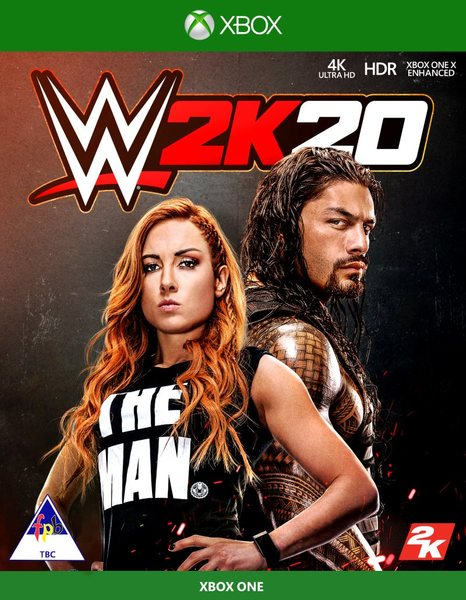 wwe 2k20 xbox one standard edition