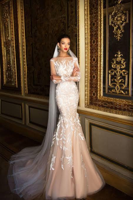 Mills Nova mermaid wedding gown