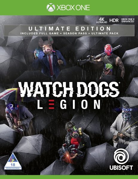 watch dogs ultimate edition xbox one