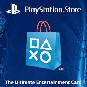 US $20 PSN Gift Card