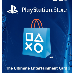 US $50 PSN Gift Card