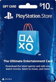 US $10 PSN Gift Card