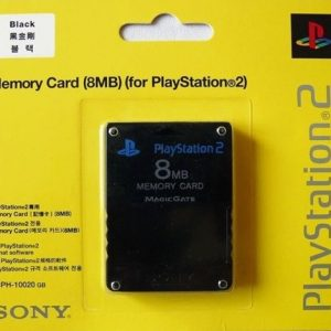 8 MB PS2 Memory Card