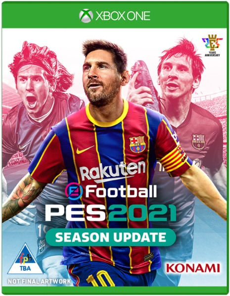 Pes 2021 xbox One game