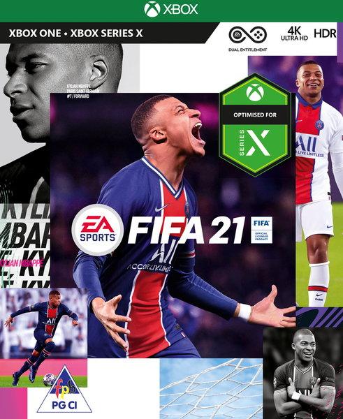 Fifa 21 standard edition xbox one