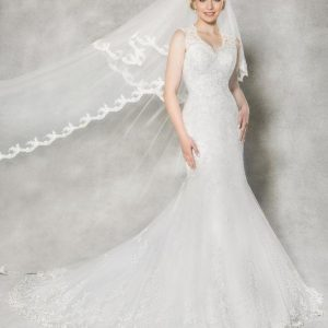 Vintage Fishtail Mermaid Wedding Dress
