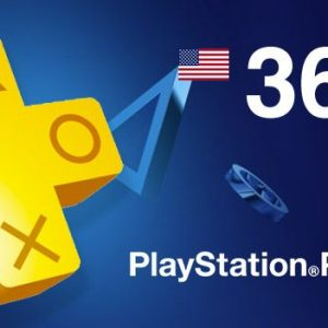 12 months ps plus USA