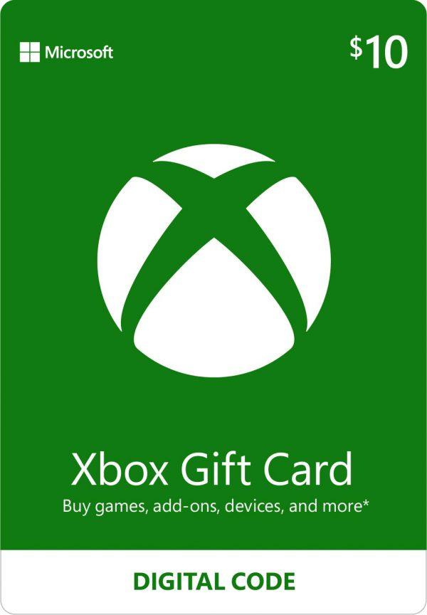 Xbox gift card 10
