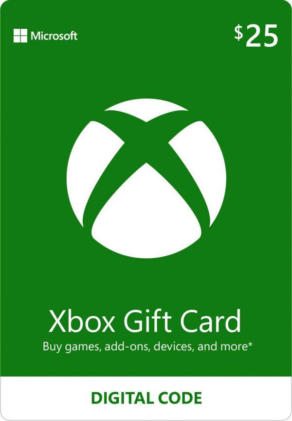 Xbox gift card 20