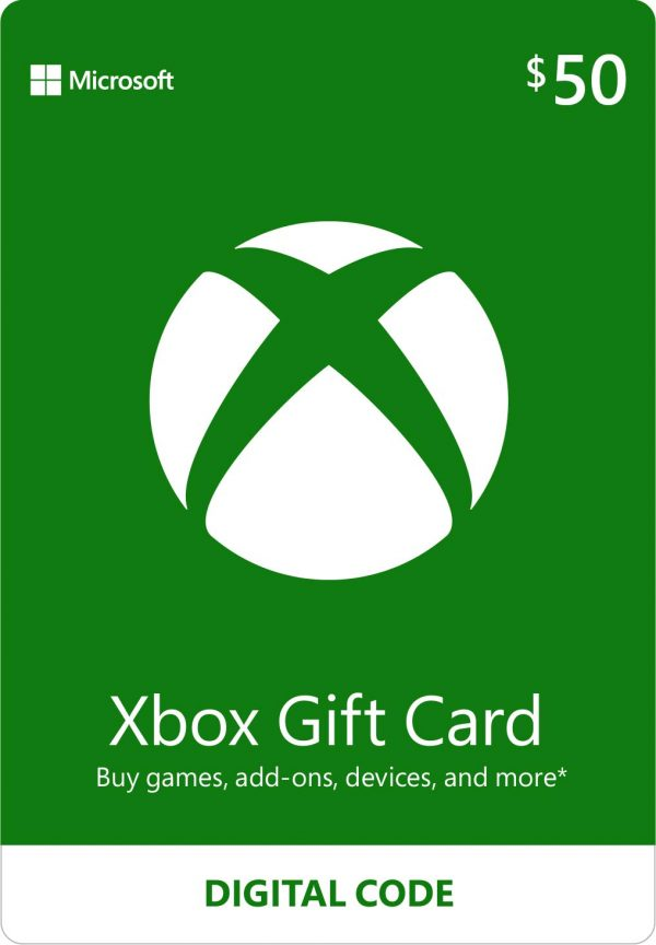 Xbox gift card 50