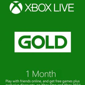 Xbox Live Gold Cards Membership(Worldwide)
