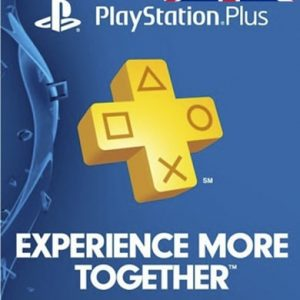 UK PlayStation Plus One Year Membership Gift Card