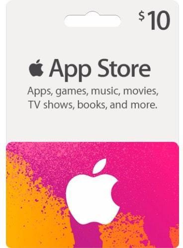 $10 apple gift card