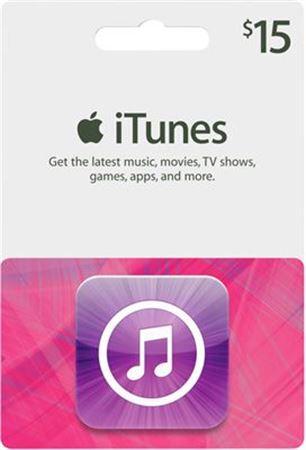 $15 apple gift card