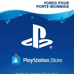 France PSN gift cards