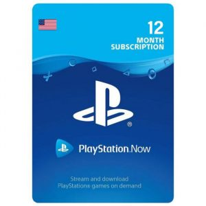 PlayStation now Subscription USA gift cards