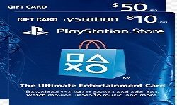 play station gift cards